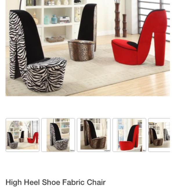 home accessory high heels sofa armchair shoe chair