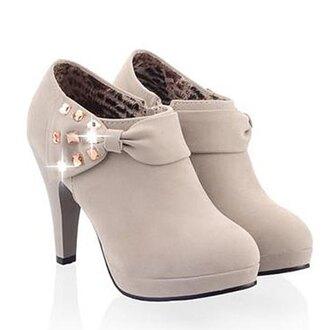 shoes sparkle heels boots