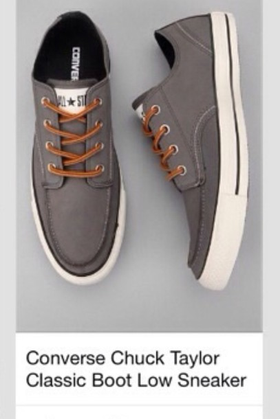 366525e3c3ba chuck taylor all stars boot low sneakers converse converse chuck taylor all  stars classic gray shoes