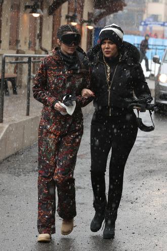 jumpsuit pants ski pants kendall jenner khloe kardashian kardashians