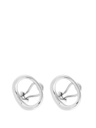earrings silver jewels