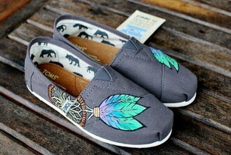 shoes dreamcatcher toms