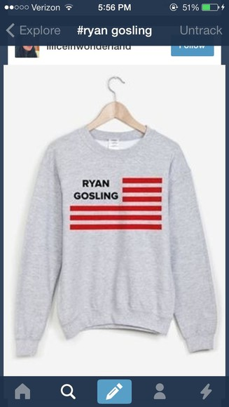 sweater sweatshirt ryan gosling