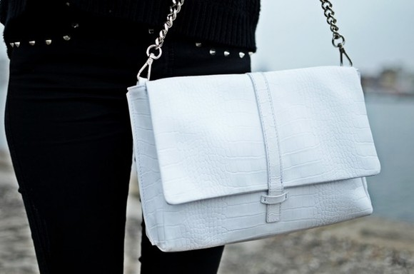 snakeskin snake print bag white bag white purse white snakeskin purse cross over bodybag