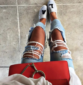 shoes la slip on shoes grey flats