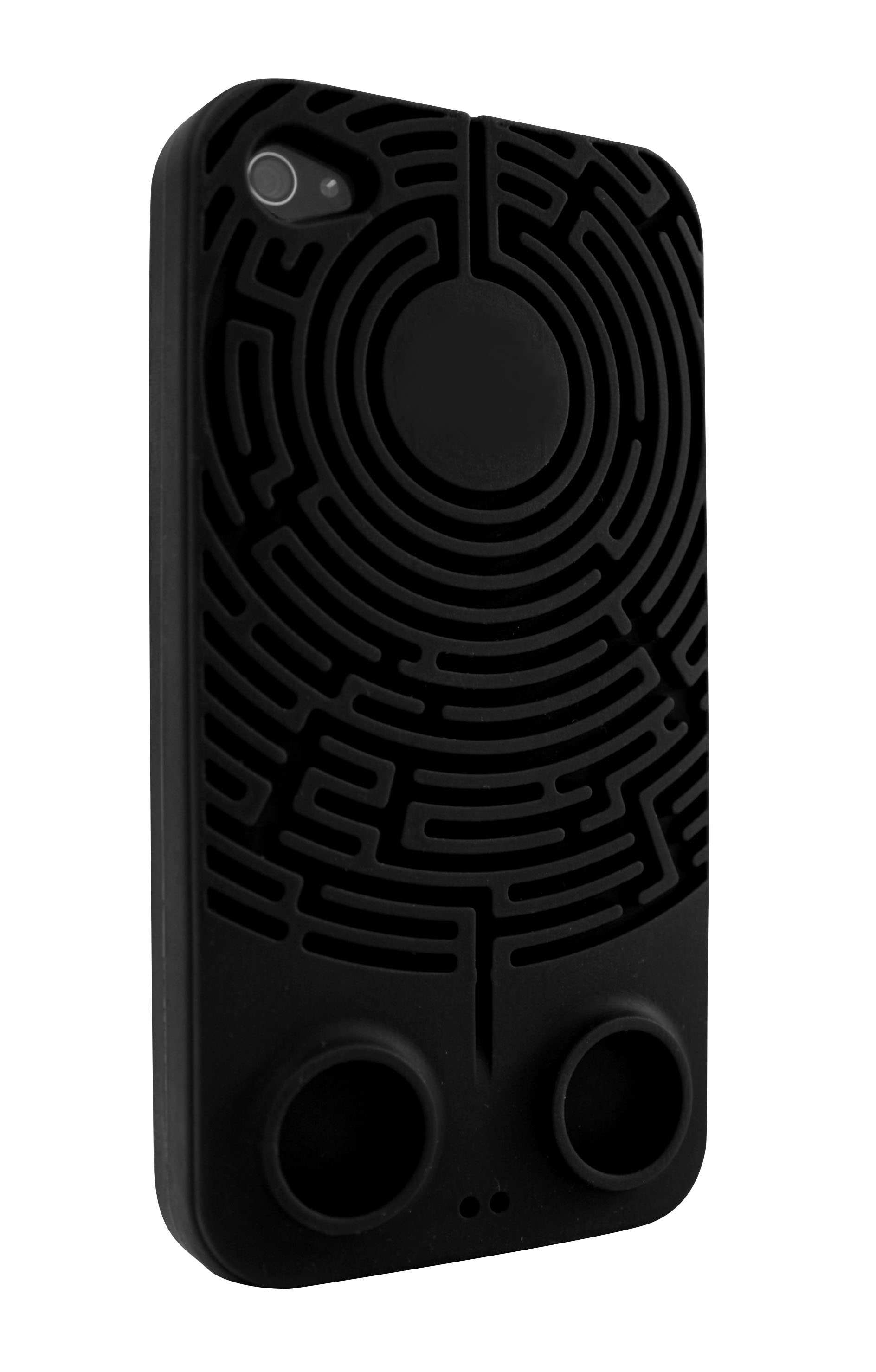 Wisdomaze Protective Silicone Case for iPhone 4 - 4s / With Built in Headphone Tidy Maze / Fun Gify Idea from Locomocean Ltd   Made By Locomocean Ltd   £4.94   BOUF