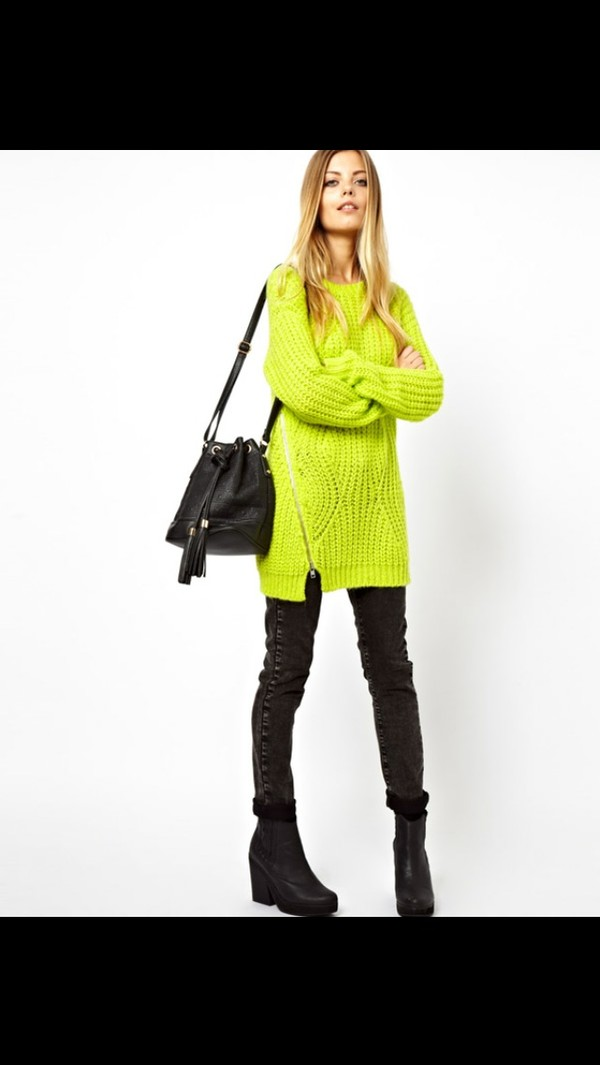 sweater neon