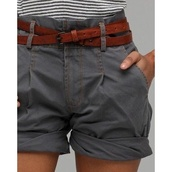 shorts,belt,short,brown,blue,vintage,cute