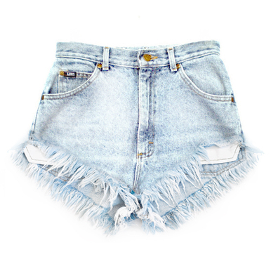 Original 320 Lite Fray Shorts - Arad Denim