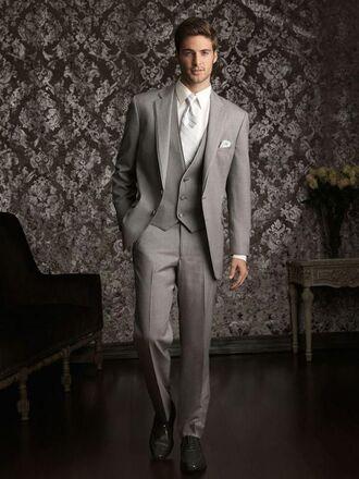 jacket mens tuxedo grey all grey everything prom menswear