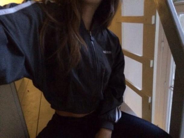 jacket adidas track top black