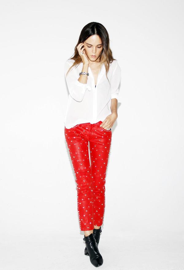style heroine jewels shoes pants shirt