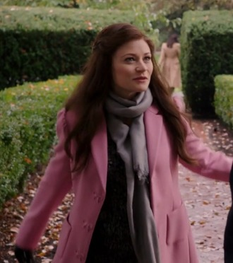 coat emilie de ravin belle once upon a time show pink