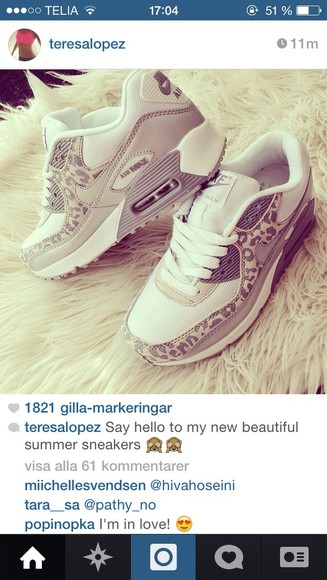 shoes white nike leopard print leopard