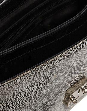 ASOS | ASOS - Sac bandoulière en cuir à double compartiment chez ASOS