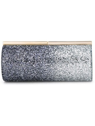 clutch blue bag