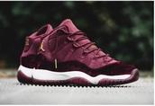 shoes,red velvet,sneakers,jordans