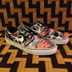 Nike SB Stefan Janoski Digi Floral Madarin Orange Skate Shoe BNIB | eBay