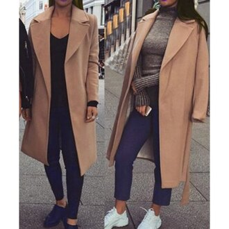 coat rose wholesale sneakers beige fall outfits knitwear winter outfits style casual casual chic