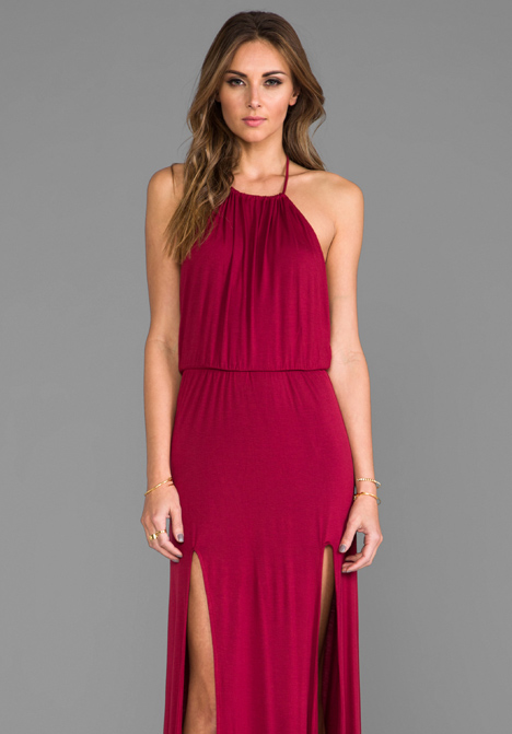 LOVERS   FRIENDS Smokin' Hot Maxi Dress in Scarlet - Lovers   Friends