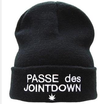 beenie black hat