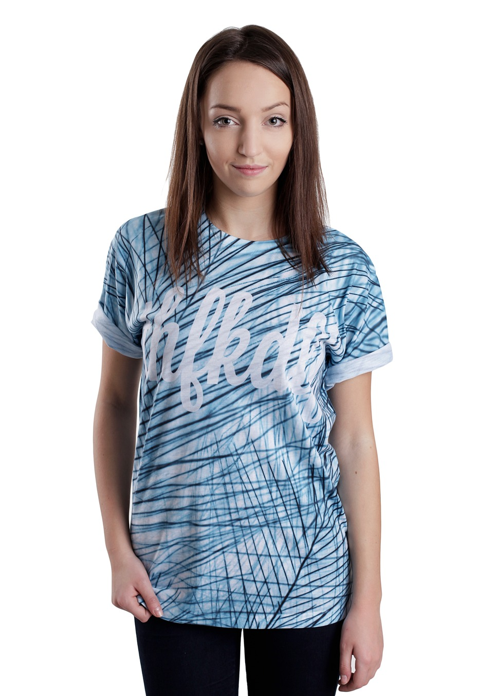 THFKDLF - Blue Pines - T-Shirt - Streetwear Online Shop - Impericon.com Worldwide