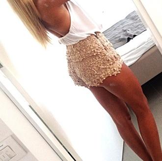 shorts lace shorts beige shorts beige lace shorts nude shorts nude lace shorts high waisted shorts high-wasted lace shorts high wasted lace shorts lace