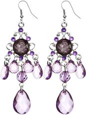 jewels,chandelier earrings,dangle earrings,candyluxx