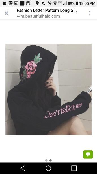 jacket hoodie floral floral hoodie cute