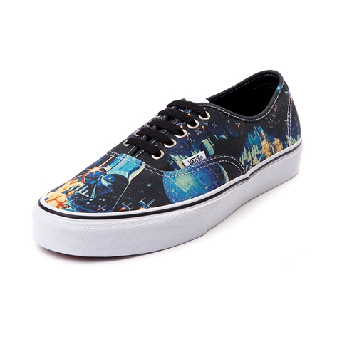 Vans authentic star wars poster skate shoe, movie poster, at journeys shoes