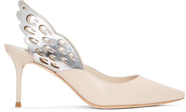 Sophia Webster heels beige shoes