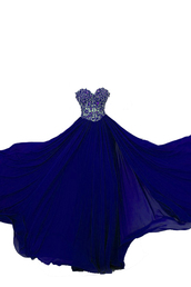 dress,bonnie clothing,blue,sweetheart neck dress,prom dress,party dress,beaded dresses,chiffon,evening dress,formal dress,fashion,backless prom dress