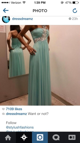 dress prom dress long prom dress prom 2014 formal dress baby blue prom dress baby blue
