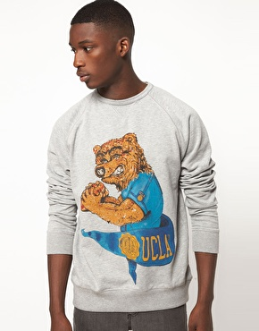 UCLA | UCLA Sweatshirt Bear Cart at ASOS