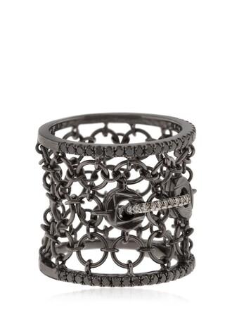 mesh ring black jewels