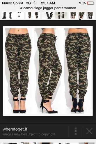 pants cargo pants joggers sweatpants camouflage sexy cool cute skinnyleg nice