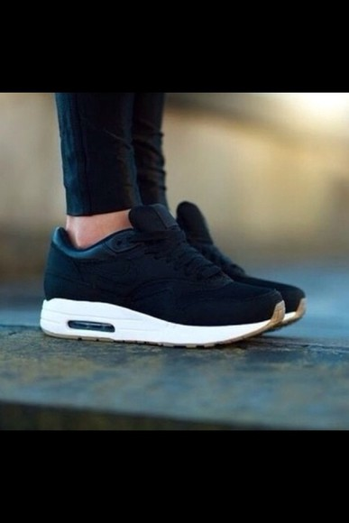 shoes brown shoes black nike air max air max nike air white most wanted nikes cute summer lovely