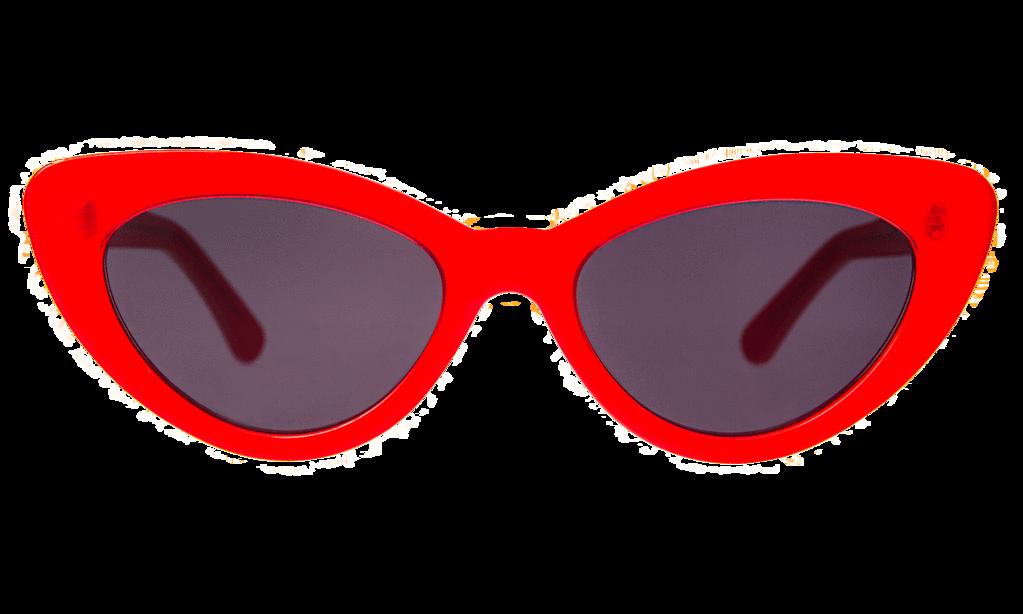 Pamela Grey SunglassesRed With Flat Lenses Fc13KlJT