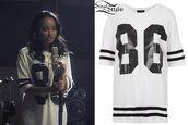 t-shirt,little mix,leigh-anne pinnock,american football,clothes,topshop,oversized,baseball,dress