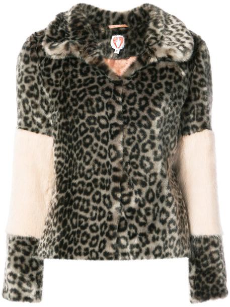 coat leopard print coat women print leopard print