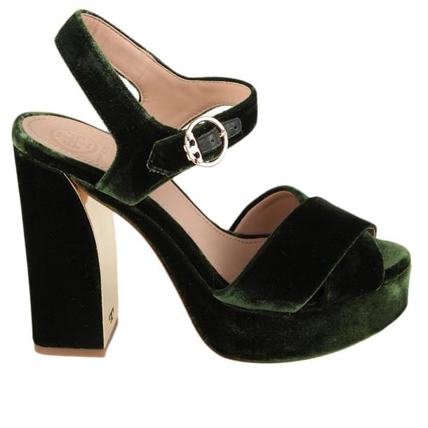 Tory Burch women shoes green