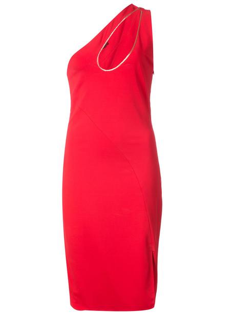 dress women spandex red