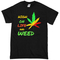 High on life weed t-shirt - basic tees shop