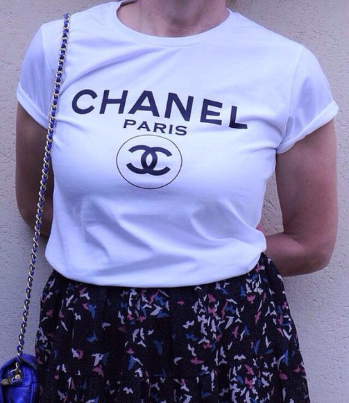 shirt t-shirt chanel t-shirt chanel shirt