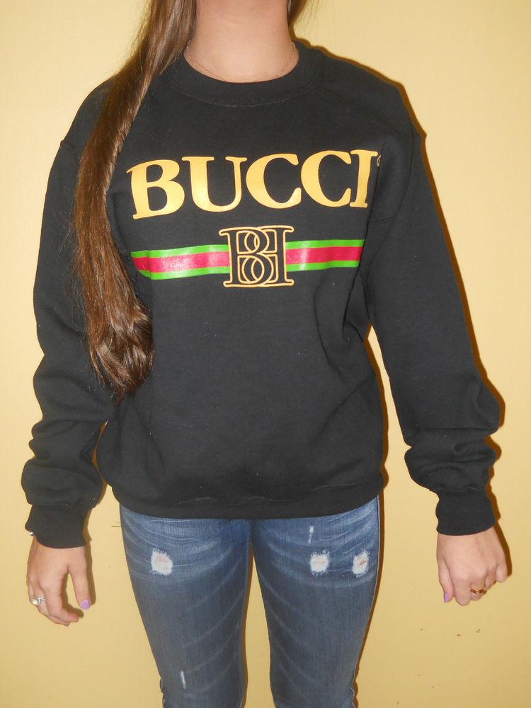 Brian Lichtenberg Black Bucci Sweatshirt Size Small NWOT | eBay