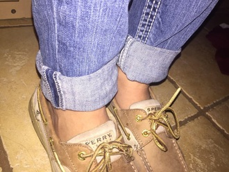shoes sperry top siders brown shoes