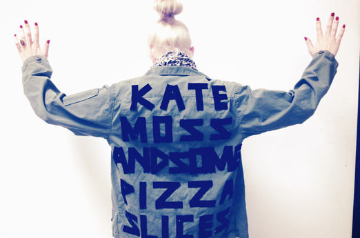 KATE MOSS AND SOME PIZZA SLICES  |  Be Bop Clothing