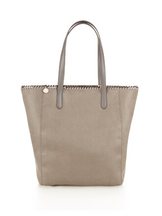 suede light grey bag