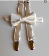 belt,bow tie,champagne,elegant,wedding,suspenders,mens accessories