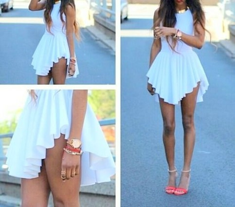 Outletpad   Irregular fashion halter dress   Online Store Powered by Storenvy